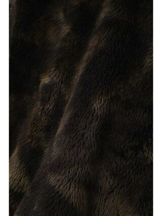 TORNADO MART TORNADOMART∴ムラ染ボアワイドスタンドジップカーデ トルネードマート カットソー カットソーその他 ネイビー ブラック【送料無料】
