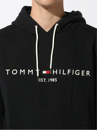 TOMMY HILFIGER TOMMY HILFIGER(トミーヒルフィガー) ベーシック ロゴ パーカ パーカ カジュアル スウェット フード フーデット トミーヒルフィガー カットソー パーカー グレー ネイビー ブラック【送料無料】