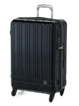 hands+ hands+/ライトスーツケース ジップタイプ 60L ミッドナイトブルー トウキュウハンズ バッグ【送料無料】