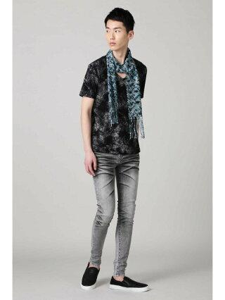【SALE/40%OFF】TORNADO MART TORNADOMART∴メランジラッセルストール トルネードマート ファッショングッズ マフラー/スヌード ブラック グリーン【RBA_E】