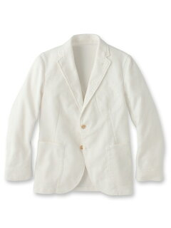Dobby Cloth Jacket 086-48501: White