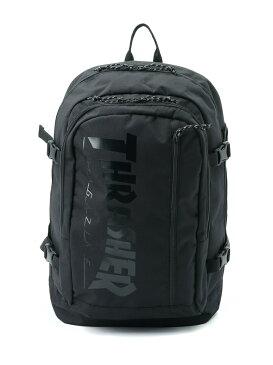 THRASHER THRASHER/(U)Backpack 30L バックバック ア バッグ チップス バッグ リュック/バックパック ブラック【送料無料】