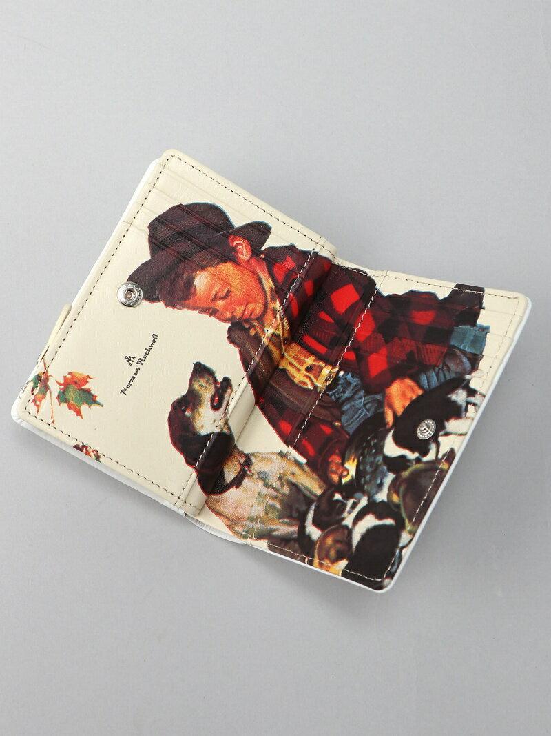 (U) ノーマン 少年と犬 ノーティアム 財布/ 【送料無料】 94BK 外小銭 小物 NAUGHTIAM NAUGHTIAM/