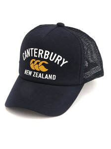 canterbury (M)メッシュキャップ カンタベリー 帽子/ヘア小物 キャップ ネイビー ブラック グレー レッド