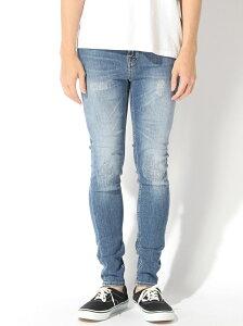 nudie jeans nudie jeans/(M)Hightop Tilde ヌーディージーンズ / フランクリンアンドマーシャル パンツ/ジーンズ ストレートジーンズ ブルー【送料無料】