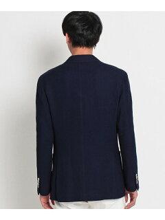 Cotton Raschel Knit Jacket 086-48001: Navy