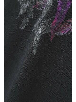 【SALE/30%OFF】TORNADO MART TORNADOMART∴フェザープリントスプラッシュJQ半袖カットソー トルネードマート カットソー カットソーその他 ホワイト ブラック【RBA_E】【送料無料】
