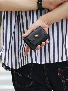 Jamale [Jamale]牛革レザーミニ財布 ジャマレ 財布/小物 財布 ブラック ブラウン カーキ レッド【送料無料】
