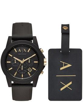 A X ARMANI EXCHANGE A X ARMANI EXCHANGE/(M)AX7105 ウォッチステーションインターナショナル ファッショングッズ 腕時計 ブラック【送料無料】