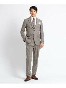 【SALE/55%OFF】TAKEO KIKUCHI ウィンドーペンスーツ Fabric by MARZOTTO タケオキクチ カットソー アンサンブル/ツインセット ネイビー【RBA_E】【送料無料】