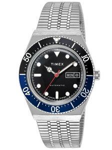 TIMEX (M)M79 オートマチック TW2U29500 ブラック 40mm タイメックス ファッショングッズ 腕時計 ブラック【送料無料】