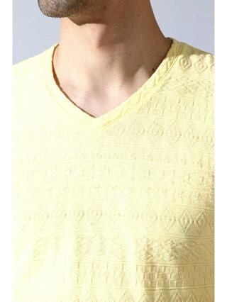TORNADO MART BLUE TORNADO∴リンクスJQ半袖Vネック トルネードマート カットソー カットソーその他 イエロー ホワイト グリーン【送料無料】