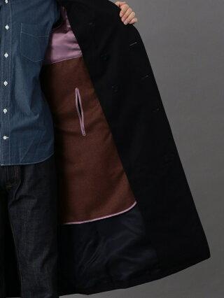 SANYOCOAT <100年コート>ダブルトレンチロングコート サンヨーコート コート/ジャケット トレンチコート ベージュ ブラック ネイビー【送料無料】