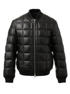 J. Press Sheep Leather Down Blouson JROVYW0206: Black
