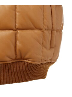 J. Press Sheep Leather Down Blouson JROVYW0206: Brown