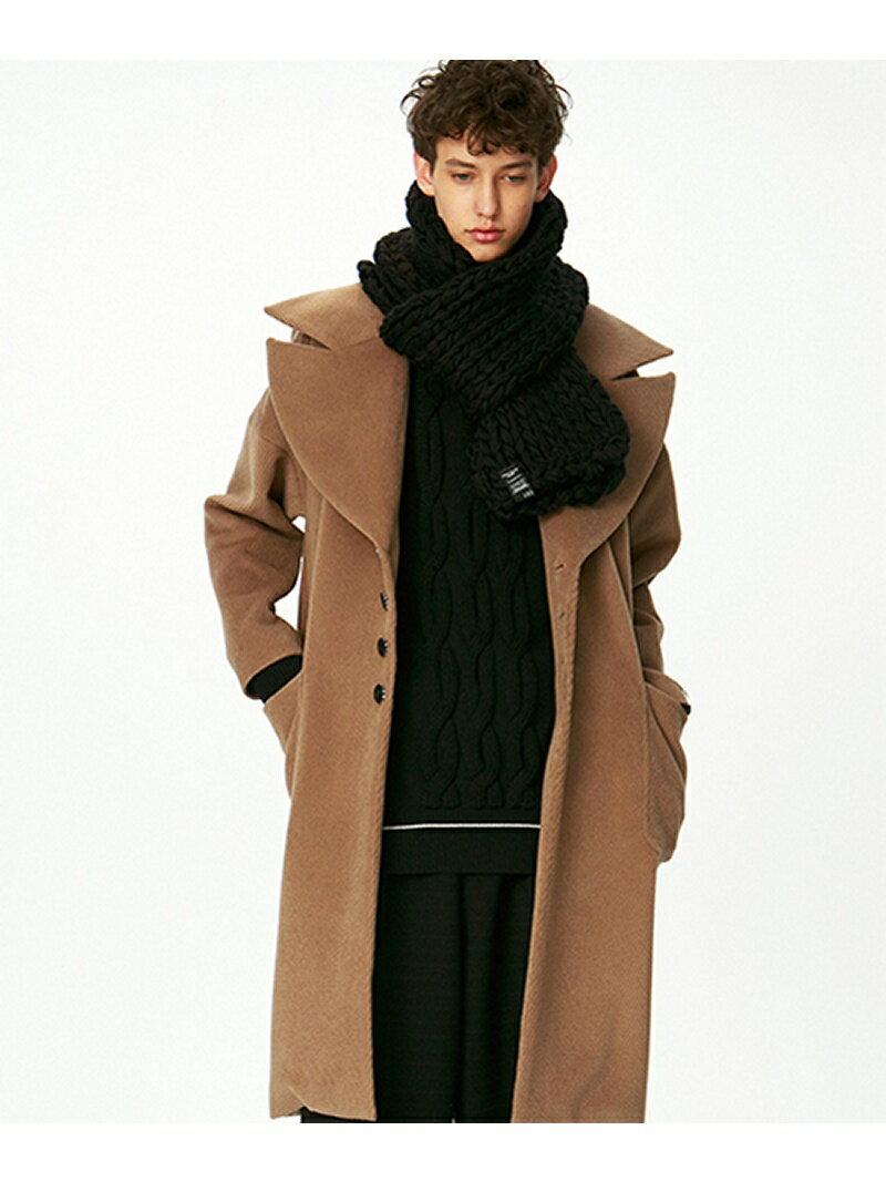 【SALE/40%OFF】SHAREEF ANGORA SHAGGY BIG COAT シャリーフ コート/ジャケット【RBA_S】【RBA_E】:Rakuten BRAND AVENUE Men