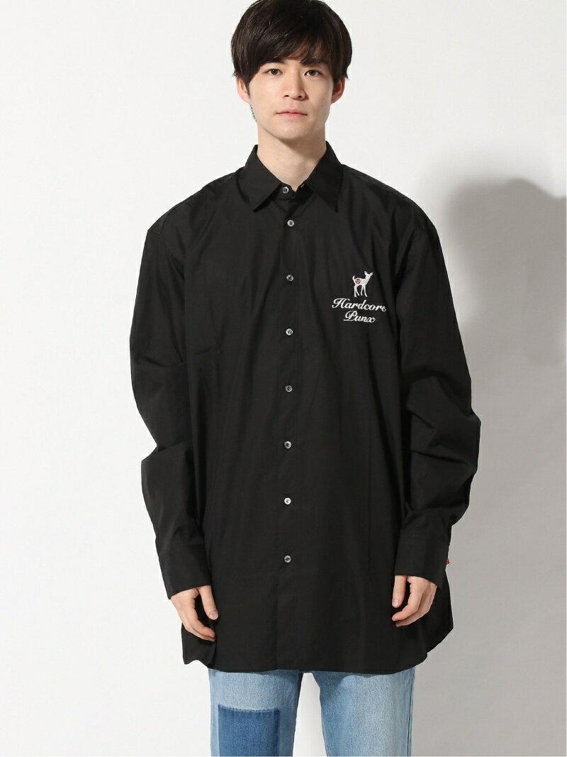 トップス, カジュアルシャツ HxCx takashi ito (U)hardcore anarchy bambi embroidery shirt