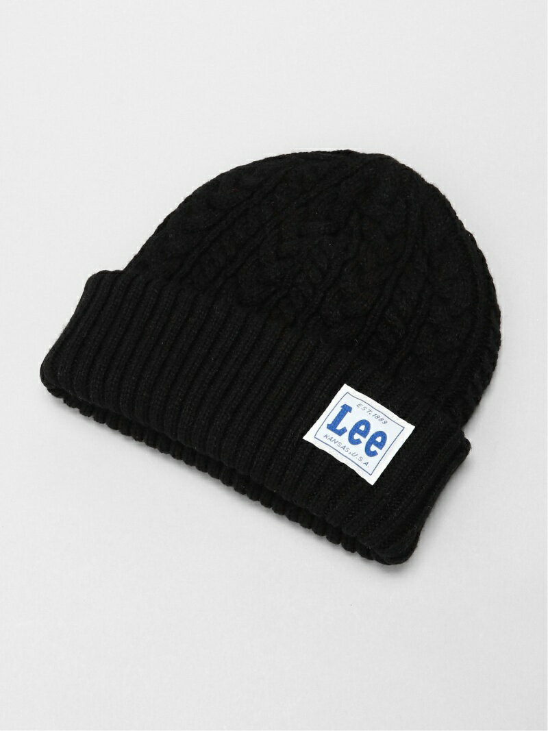 メンズ帽子, ニット帽 Lee Lee(U)LE CABLE WATCH CAP ACRYLIC