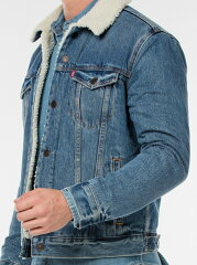 Levi's The Sherpa Trucker Jacket 16365: 0040 Needle Park