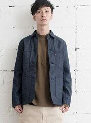 Levi's Blanket Lined Selvedge Utility Coat 34997: 0000 Indigo