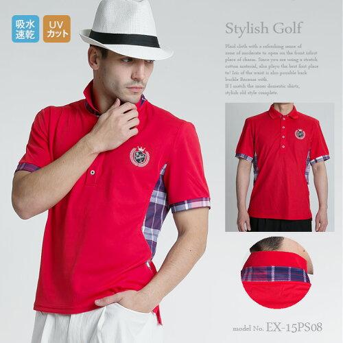 ゴルフウェア メンズ ゴルフウェア 春 スポーツウェア メンズ ファッション おしゃれ ポロシャツ...