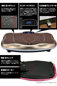 スリミング振動ステッパーX字型音楽プレイヤー機能付老害物排出脂肪燃焼エクスサイズ有酸素運動ダイエット