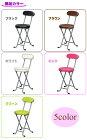 キッチンチェア補助椅子椅子チェア折りたたみピンク折りたたみ椅子軽量背もたれ付折りたたみイスホワイト厚めクッションブラックブラウングリーン【あす楽対応】