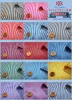 サテンストライププリント生地倫敦少女≪Stripe Girlish≫約3mmサイズのストライプをプリントしたポリエステルサテン生地です。衣装やコスチューム、コスプレ、装飾などにもおすすめ♪