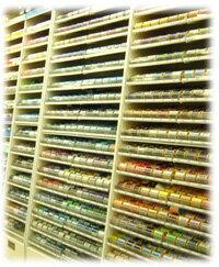 フジックスシャッペ span sewing yarn color Omakase course