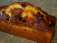 フルーツパウンドケーキ