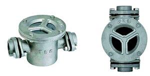 TB式砂取器 (ステンレス製)TB3737 20A 東邦工業