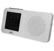 ブラウンラジオ置き時計BRAUNCLOCKBNC010WH-RCホワイト置き時計お祝いプレゼントギフト
