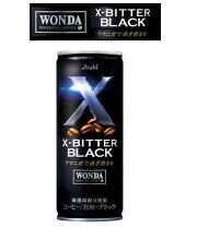 アサヒワンダASAHIWANDAX-BITTERBLACKブラック245g缶×2ケース(60本