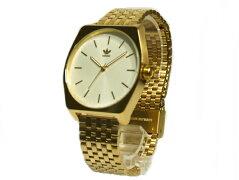 ADIDASアディダスWATCH腕時計Z02-2914-00CJ6342文字盤白・ベルトゴールド