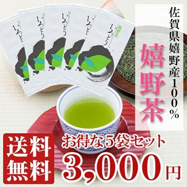 お茶 緑茶 【送料無料】 佐賀県 嬉野産 茶葉 100%使用 『 嬉野茶 』 いろどり 100g袋入り×5袋セット 日本三大美人の湯 で有名な佐賀県嬉野 で採れた高品質 緑茶 事務所用 普段使い に人気の 日本茶 です