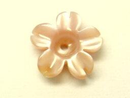天然ピンク蝶貝 桜 サクラ モチーフ 6mm 10個