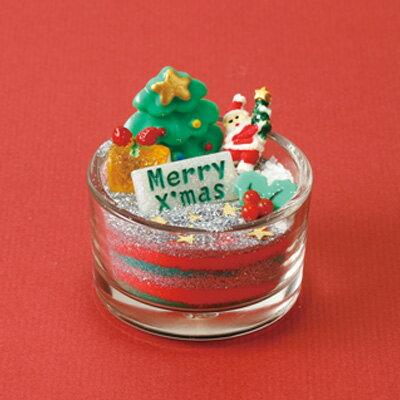 赤緑 クリスマスサンドアート手作りセット