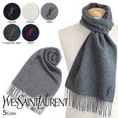イヴサンローラン マフラー メンズ レディース YSL Yves Saint Laurent スカーフ ストール ウール ロゴ LOGO WOOL SCARF [1/17 追加入荷]