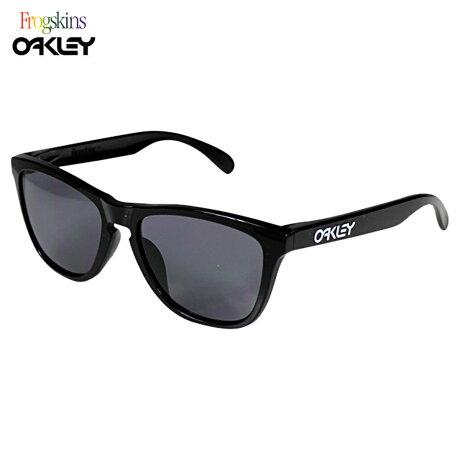 オークリー サングラス アジアンフィット Oakley Frogskins フロッグスキン Asian Fit OO9245-01 ポリッシュドブラック グレー メンズ レディース [6/28 再入荷]
