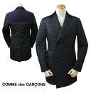 JUNYA WATANABE MAN ジュンヤワタナベ COMME des GARCONS ジャケット Pコート ピーコート ブラック メンズ