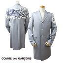 コムデギャルソン HOMME PLUS COMME des GARCONS ジャケット ロングコート グレー メンズ [S40][返品不可]