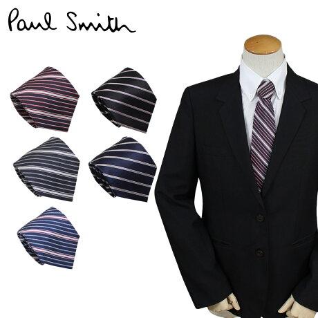 ポールスミス ネクタイ シルク メンズ Paul Smith スタライプ ギフト ケース付 イタリア製 ビジネス 結婚式 [6/12 追加入荷]
