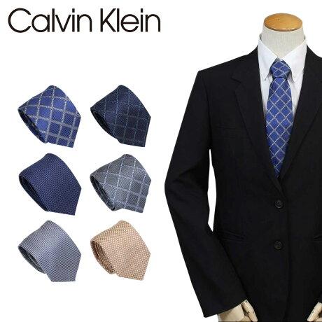 Calvin Klein ネクタイ シルク カルバンクライン メンズ CK ビジネス 結婚式 [3/6 追加入荷]