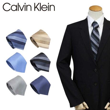 カルバンクライン ネクタイ シルク Calvin Klein メンズ CK ビジネス 結婚式 [6/12 追加入荷]