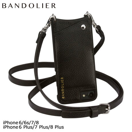 BANDOLIER バンドリヤー iPhone8 iPhone7 7Plus 6s ケース スマホ アイフォン プラス EMMA レザー メンズ レディース [2/9 追加入荷]