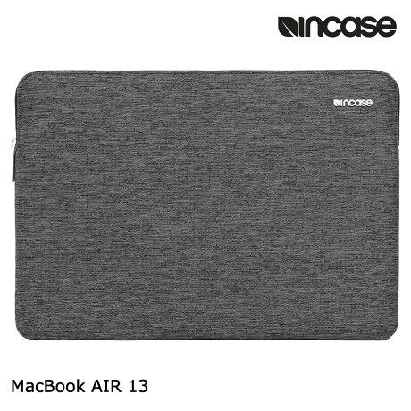 INCASE インケース バッグ パソコンバッグ PCケース 13インチ SLIM SLEEVE FOR MACBOOK AIR 13 CL60686 レディース メンズ ブラック [6/12 再入荷]