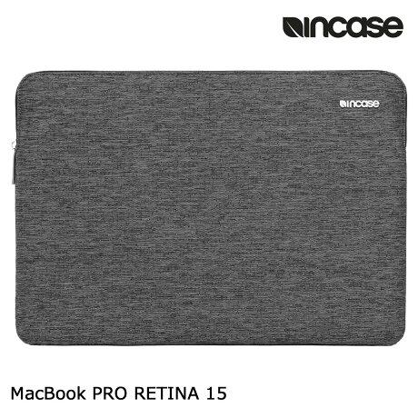 INCASE インケース バッグ パソコンバッグ PCケース 15インチ SLIM SLEEVE PRO FOR MACBOOK RETINA 15 CL60682 レディース メンズ ブラック [6/12 追加入荷]