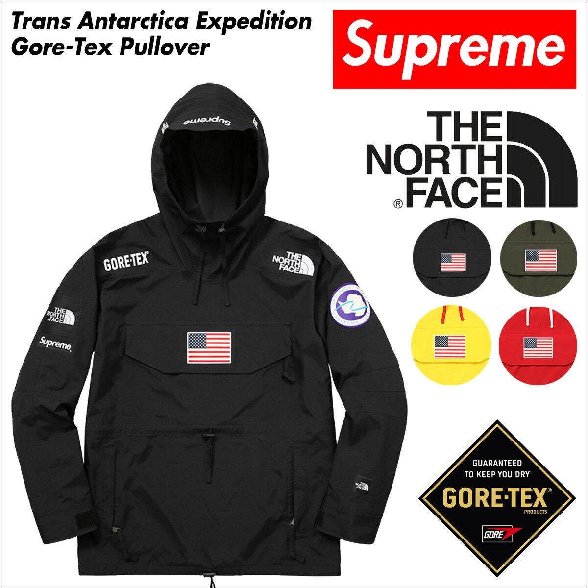 シュプリーム ノースフェイス ジャケット Supreme THE NORTH FACE プルオーバー マウンテンパーカー メンズ  NF0A37KB TRANS ANTARCTICA EXPEDITION PULLOVER:シュガーオンラインショップ