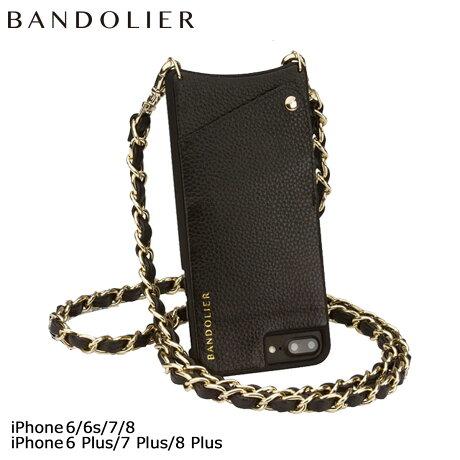 BANDOLIER バンドリヤー iPhone8 iPhone7 7Plus 6s ケース スマホ アイフォン プラス LIBBY レザー メンズ レディース [2/9 追加入荷]