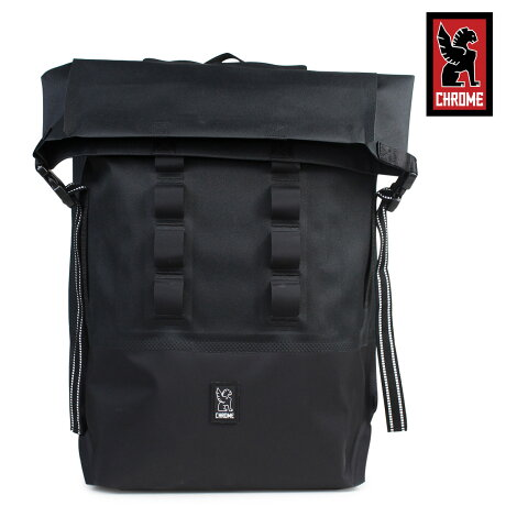 クローム リュック バッグ CHROME バックパック 28L メンズ レディース URBAN EX ROLLTOP BG-218 ブラック [6/8 追加入荷]